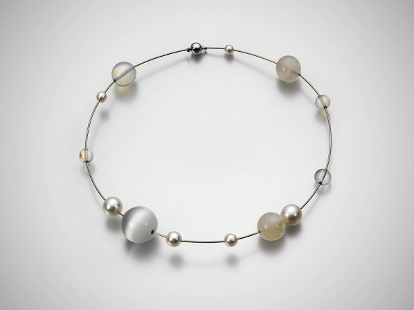 Mariko-Mori-Planets-Necklace