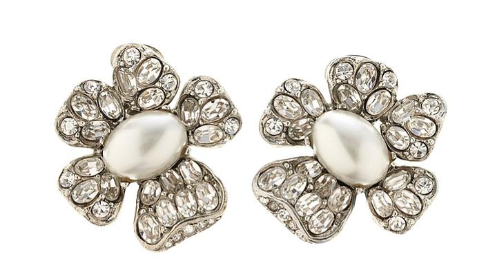 Oscar_de_la_Renta_crystal_pearl_floral_earrings