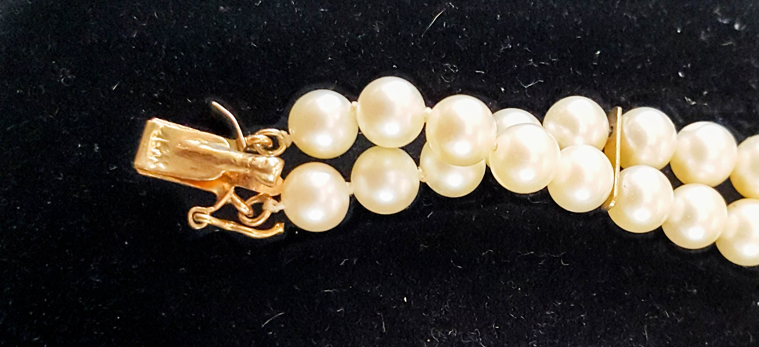 14 karat gold bracelet closure