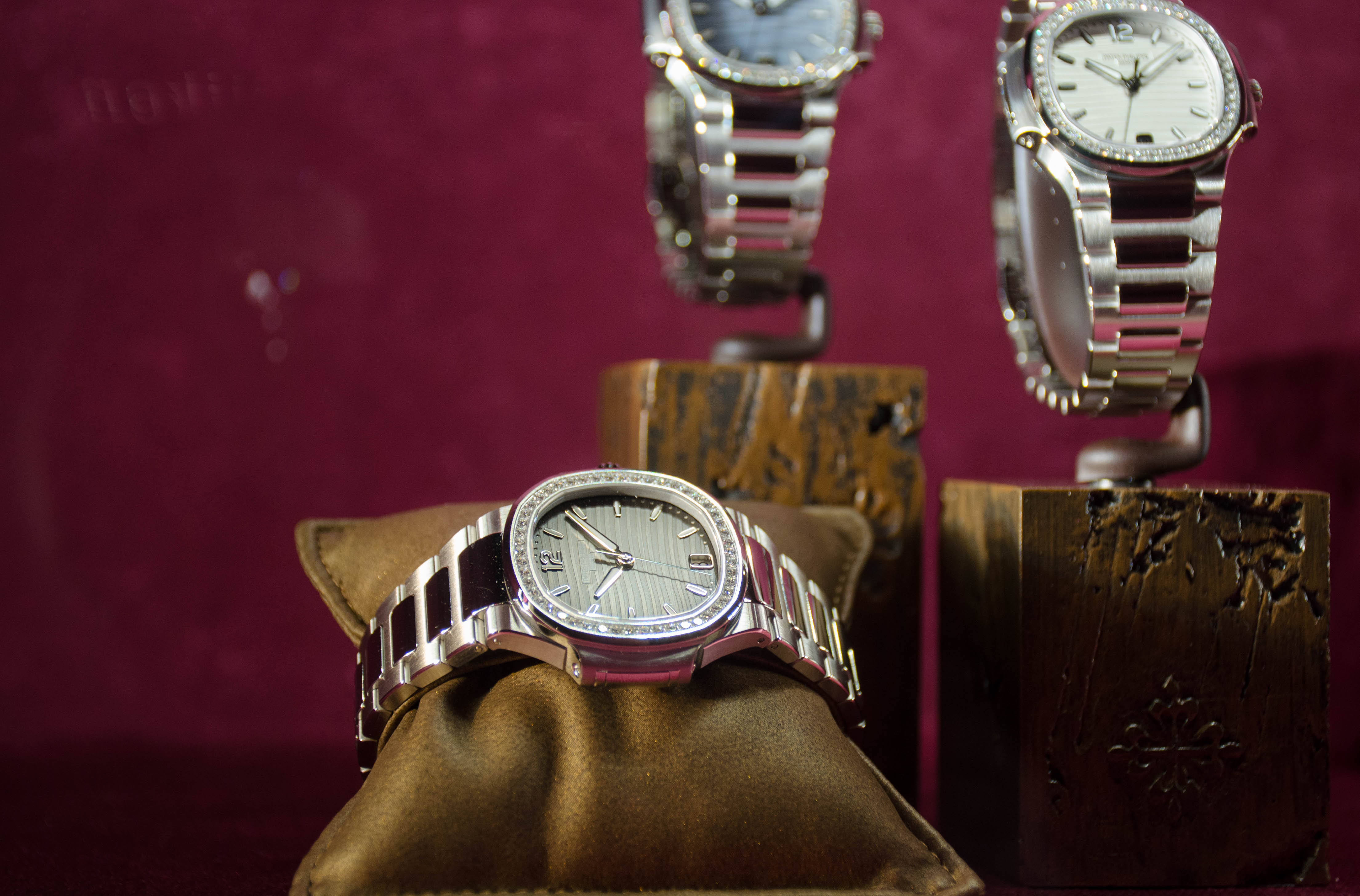 Nautilus collection womens watch