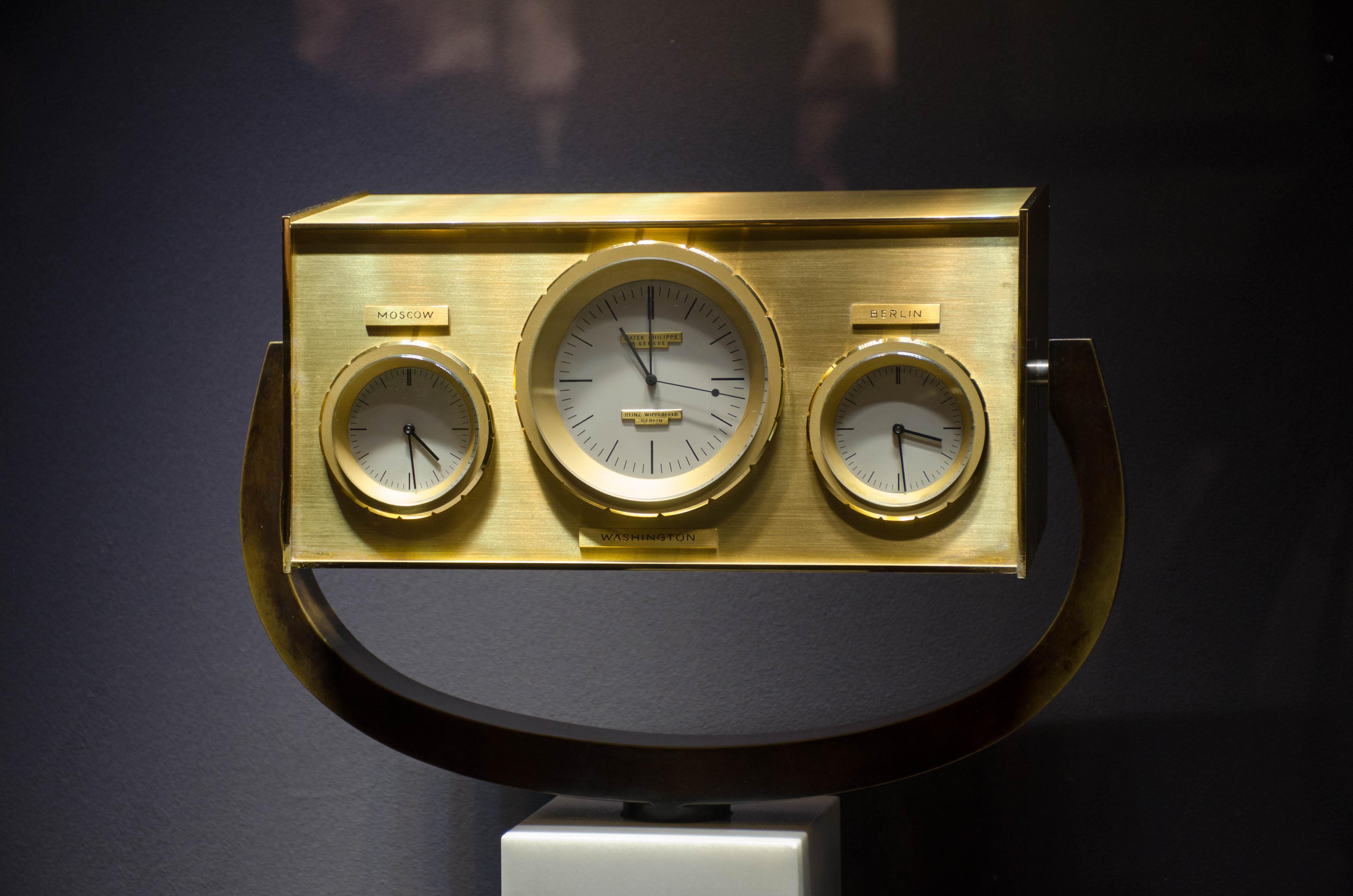 John F. Kennedy clock by Patek Philippe