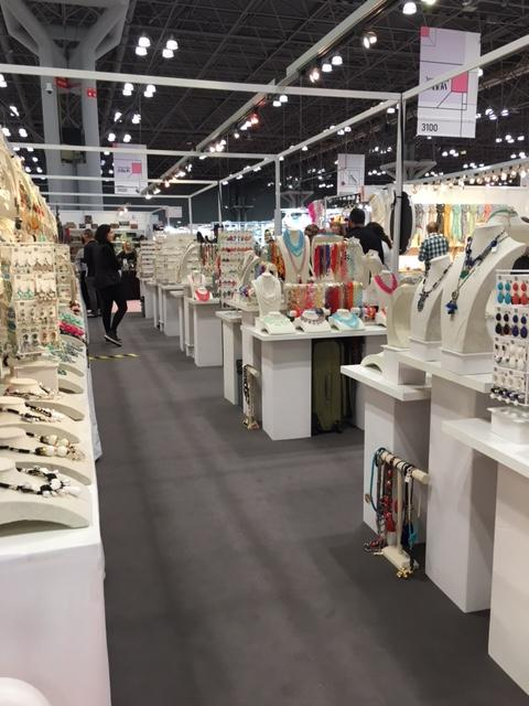 UMB Trade show floor at the Jacob Javits Convention Center
