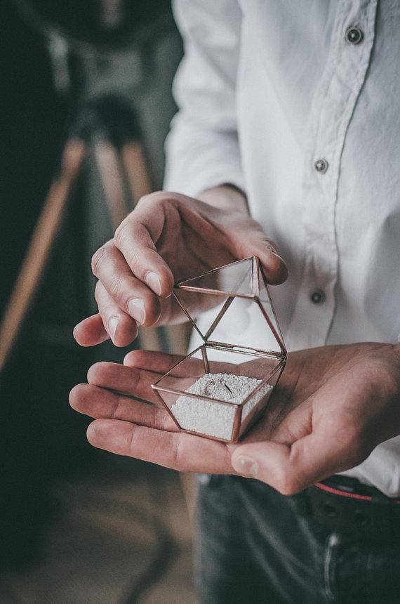 Leosklo engagement ring box unique