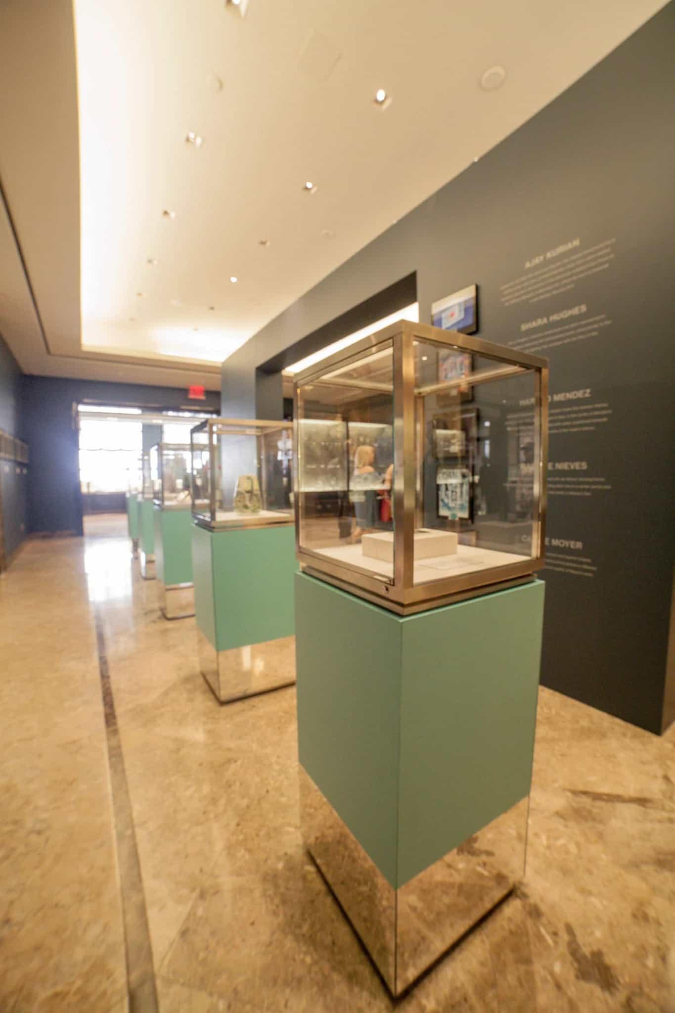 Biennial display at Tiffany's flagship store