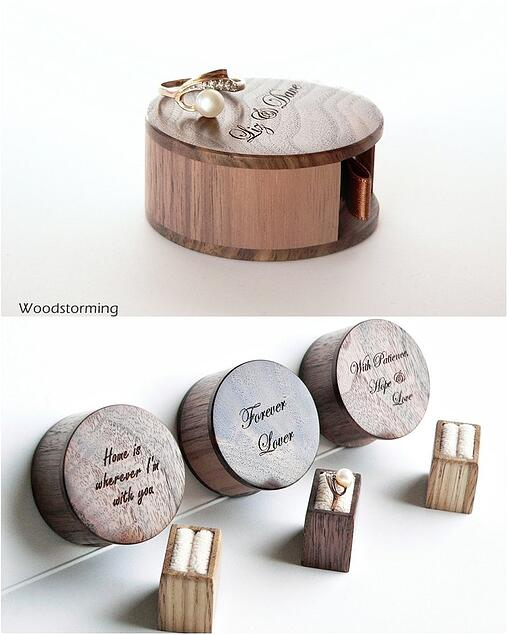 WoodStorming wooden ring box
