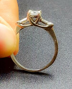a cathedral ring setting for your diamond ring