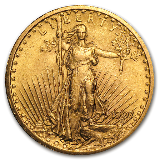 1 oz. St. Gaudens double eagle