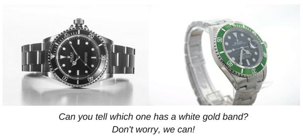 White Gold Rolex