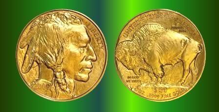 1 oz. American gold buffalo