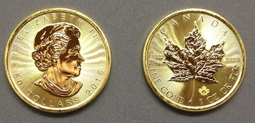 1 oz. Canadian Maple Leaf